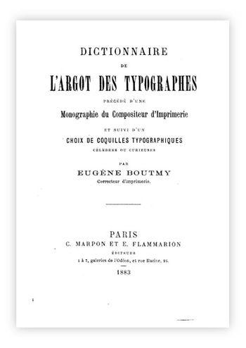 Experiecend ARGOT TYPOGRAPHES
