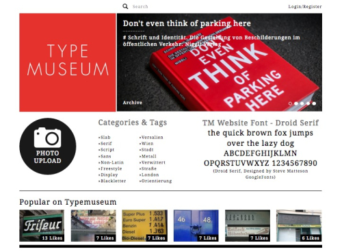 Experienced Type Museum
